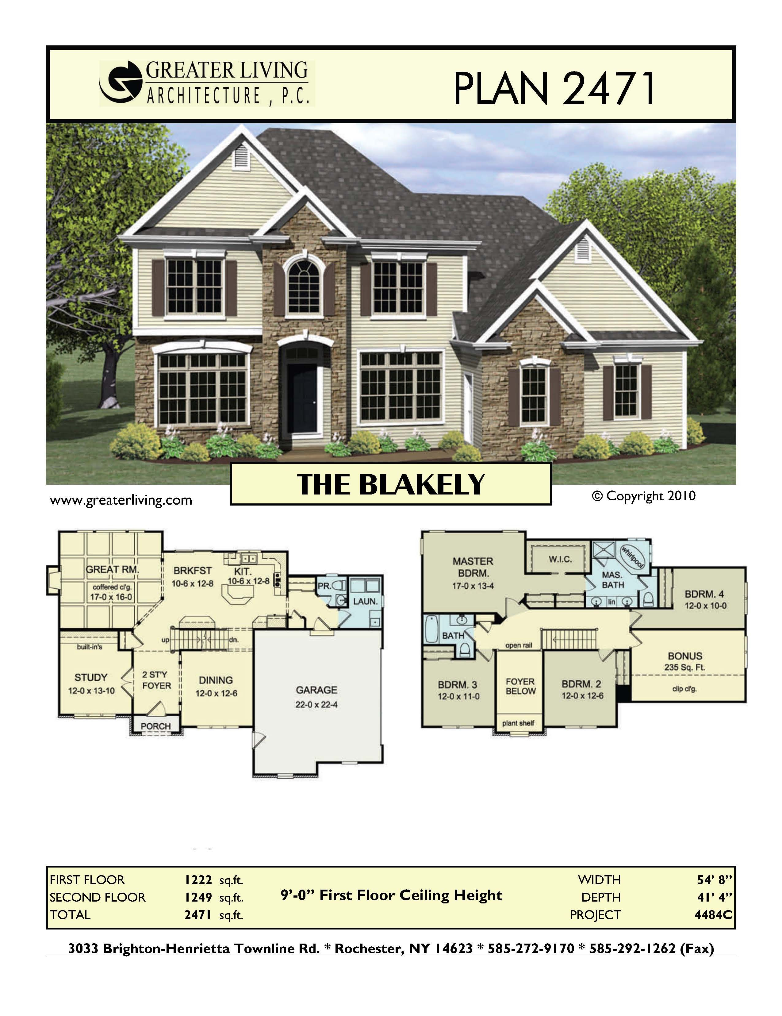 Greater Living Architecture House Layouts Family House Plans Craftsman House Plans