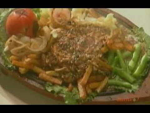 Chicken steak sizzler sanjeev kapoor khana khazana youtube chicken steak sizzler sanjeev kapoor khana khazana youtube forumfinder Choice Image