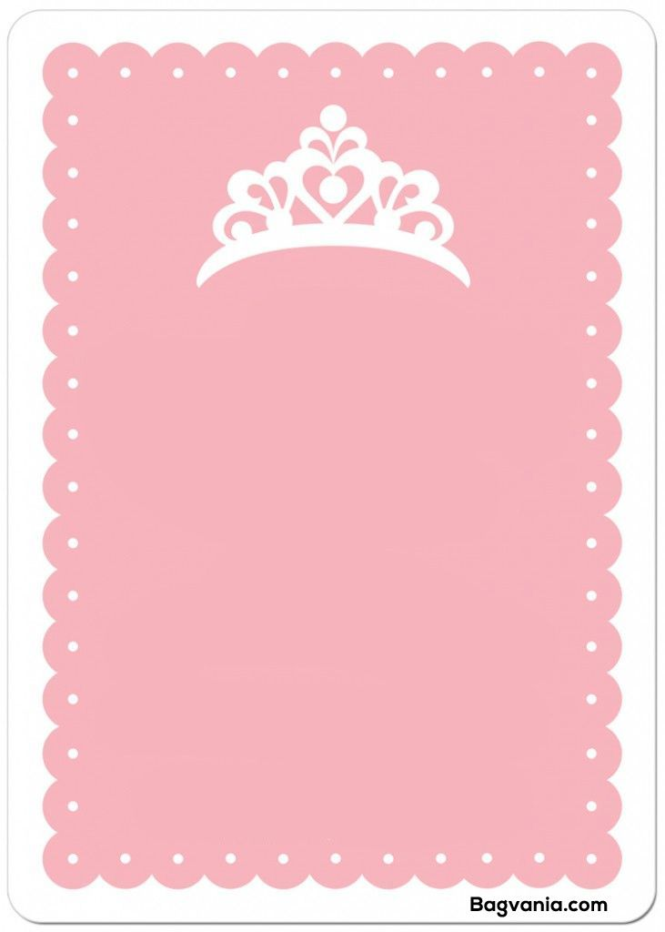 Download Now Free Princess Birthday Invitations