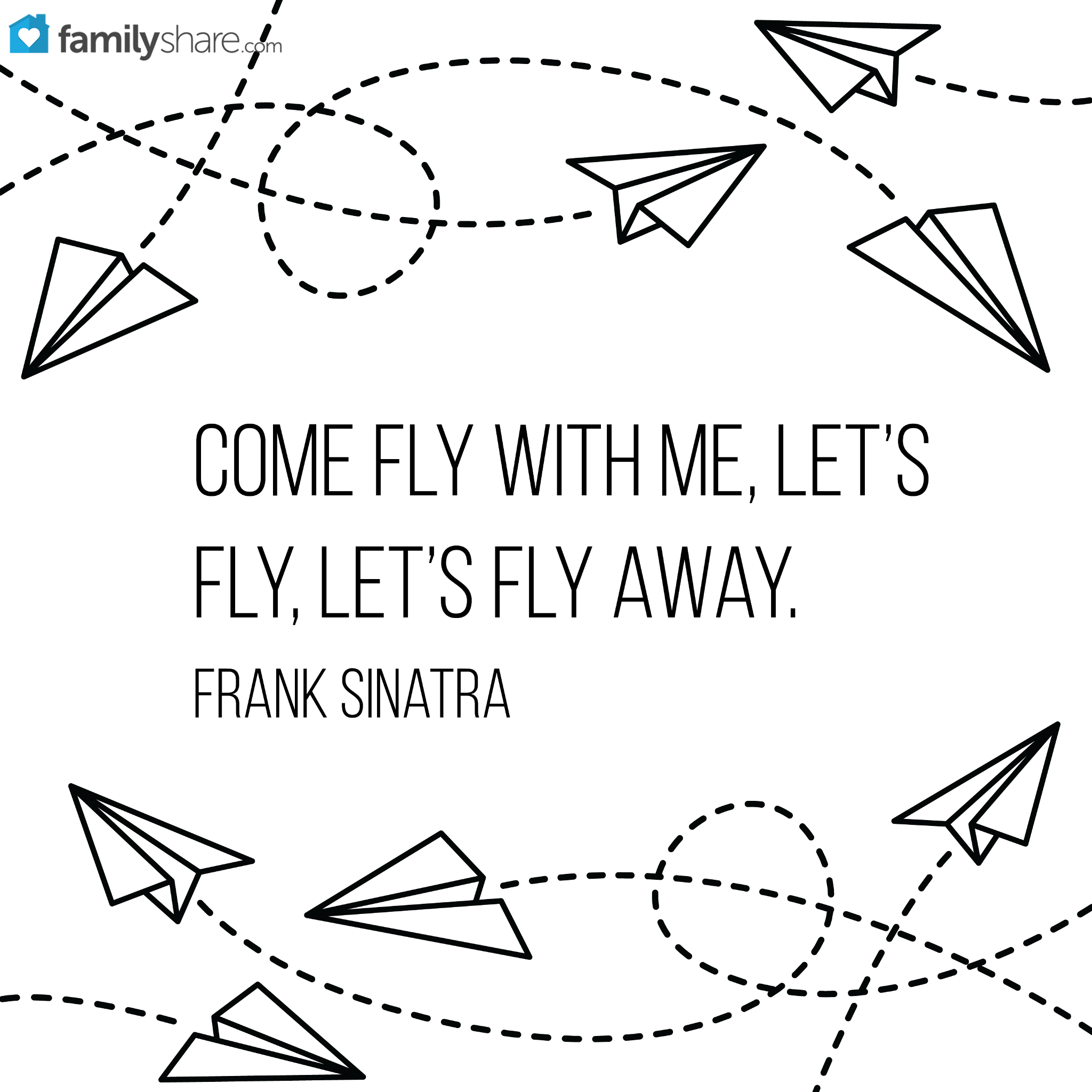 Come Fly With Me Let S Fly Let S Fly Away Frank Sinatra