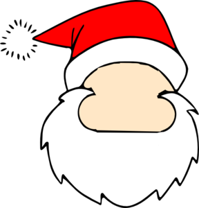 blank santa face clip art christmas pinterest santa face clip rh pinterest ch santa face clip art free printable cartoon santa face clip art
