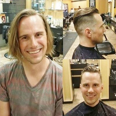Gents Cut, Hair Makeover, Men\'s Makeover, Groomed Hairstyle, Man ...