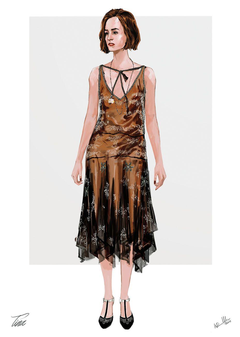 Love queenies dress from fantastic beasts   Fashion   Pinterest ...