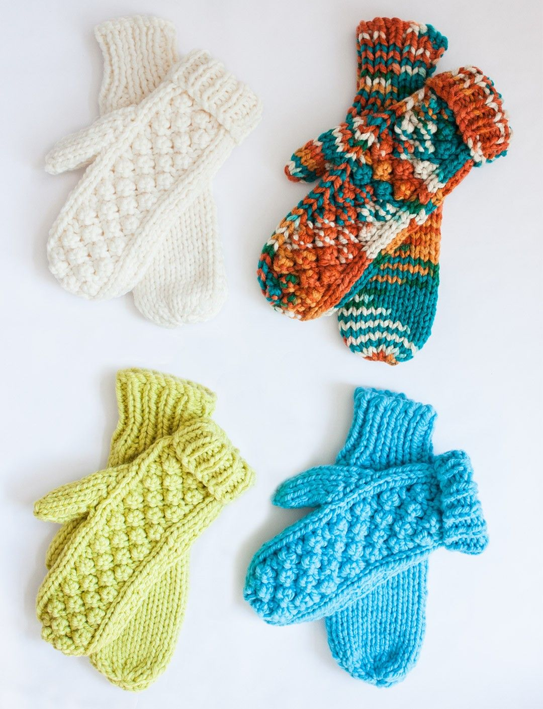 Yarnspirations.com - Bernat Chill Chaser - Mittens - Patterns ...