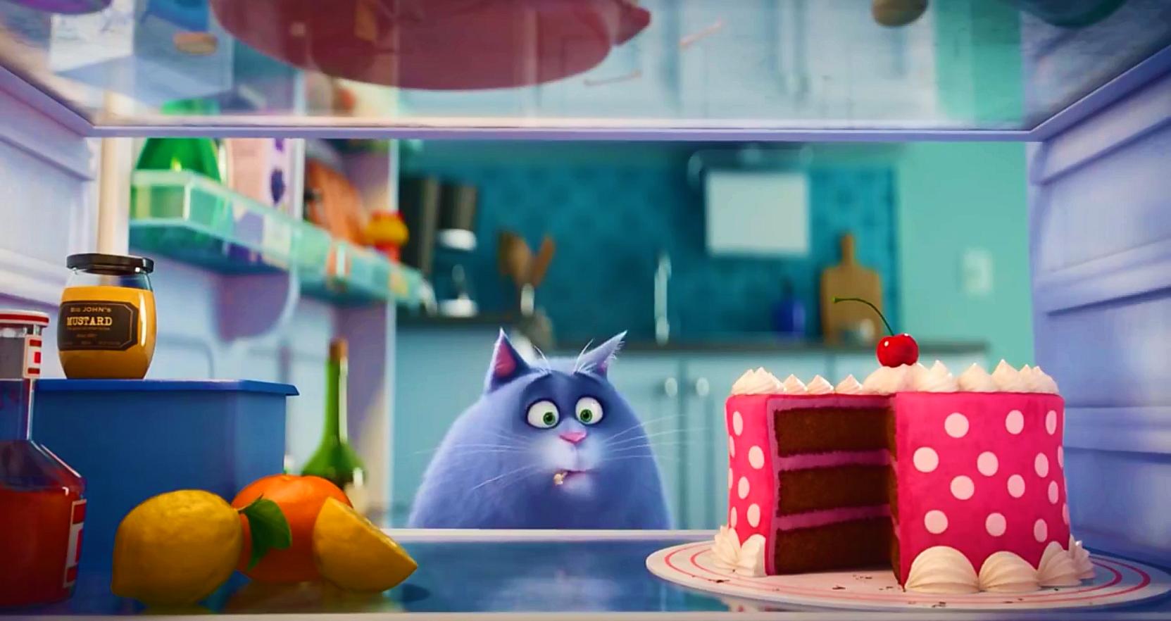 Картинка кошки из мультфильма тайная жизнь домашних животных