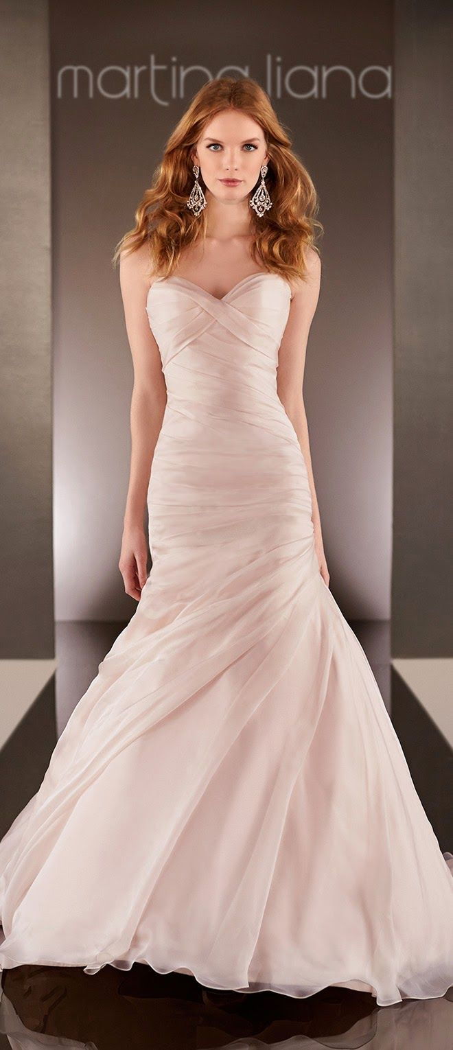 Martina Liana Spring 2015 Bridal Collection | Pinterest | Novios ...