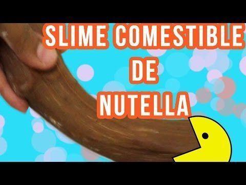 DIY ♥ NUTELLA EDIBLE SLIME - YouTube #edibleslime DIY ♥ NUTELLA EDIBLE SLIME - YouTube, #diy #EDIBLE #Nutella #SLIME #x2665 #YouTube #edibleslime