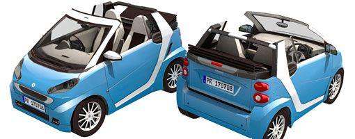 Mercedes Benz Smart Cabrio Paper Model