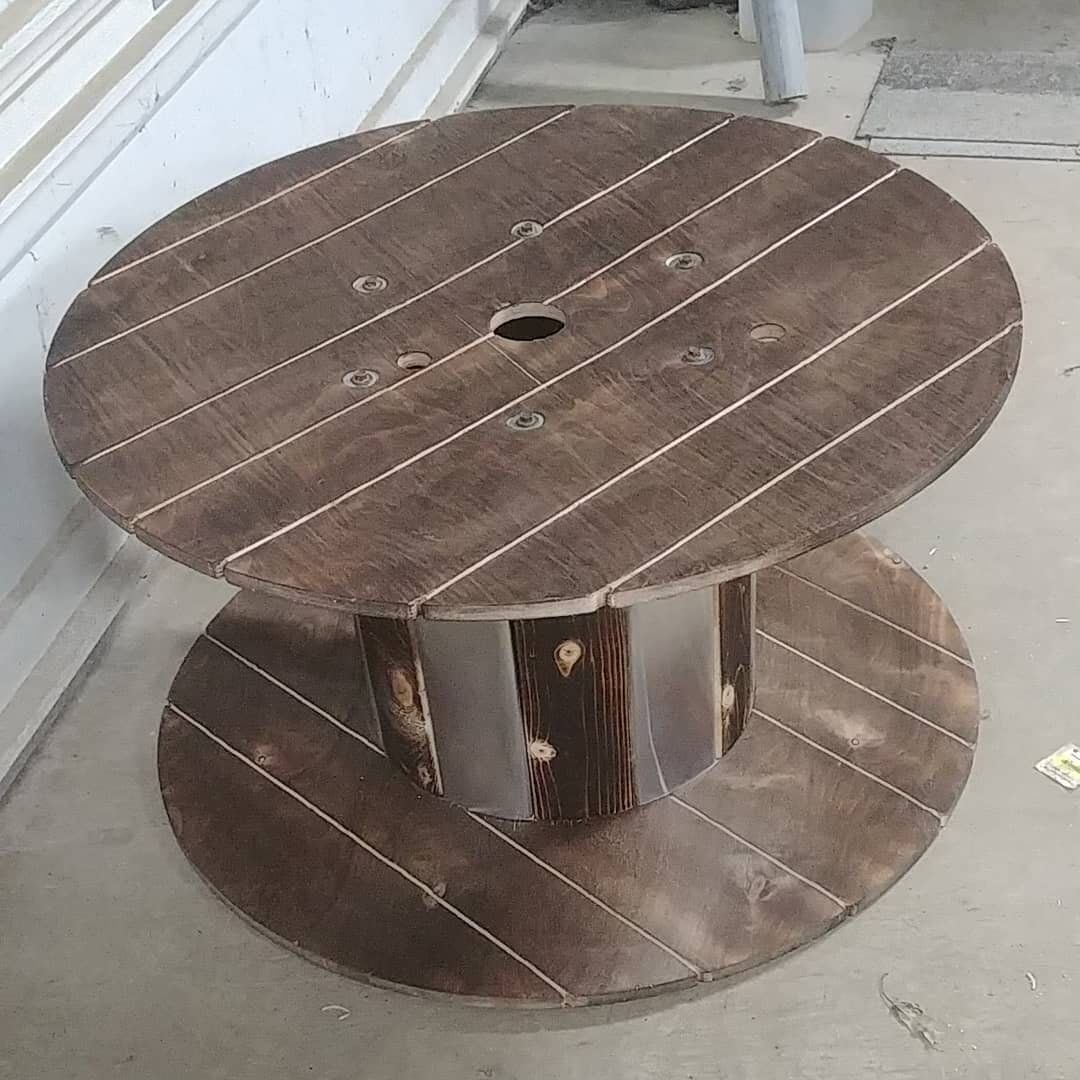 Wire spool table #cablespooltables 30