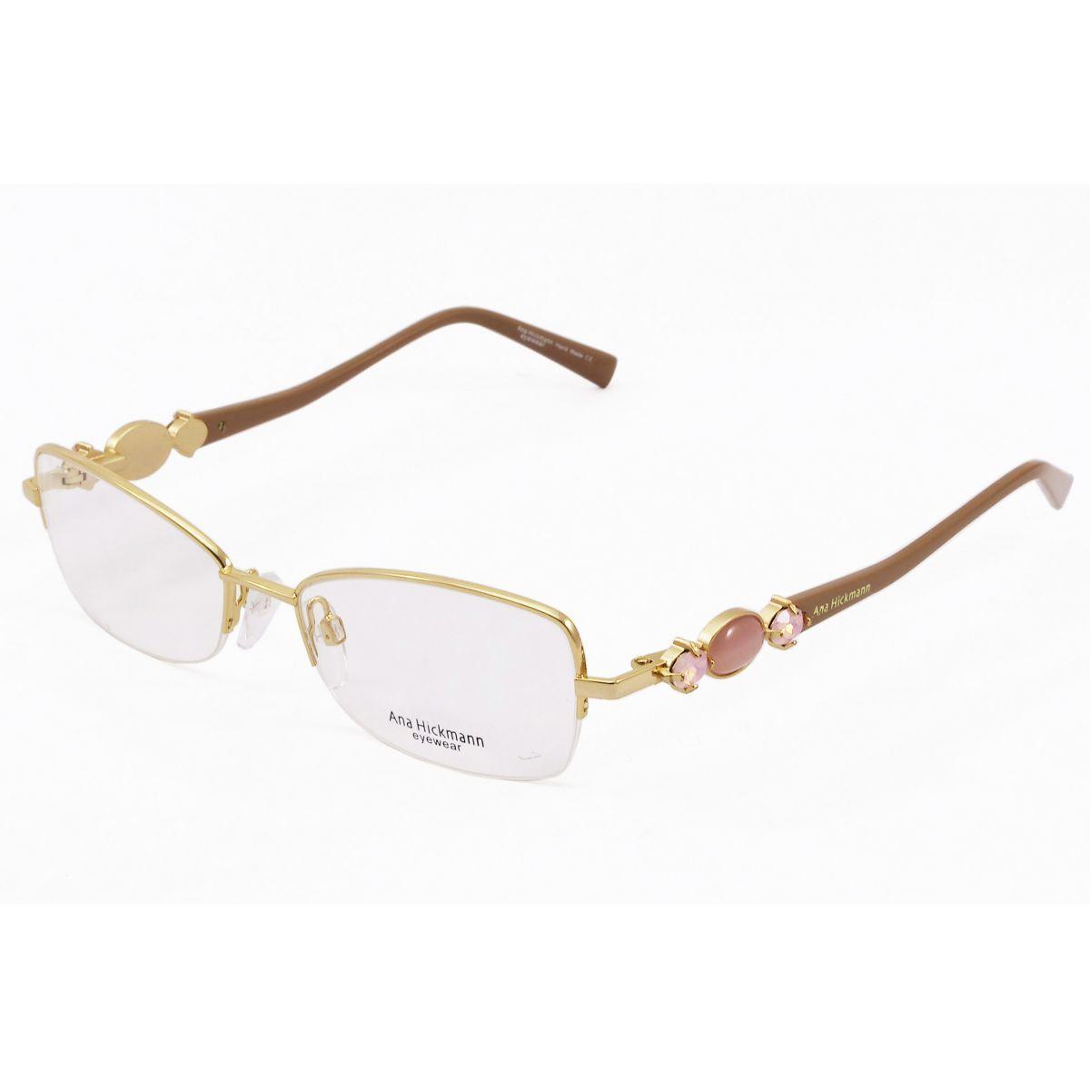 Oculos De Grau Feminino Ana Hickmann Ah1264 04a Tam 53 With