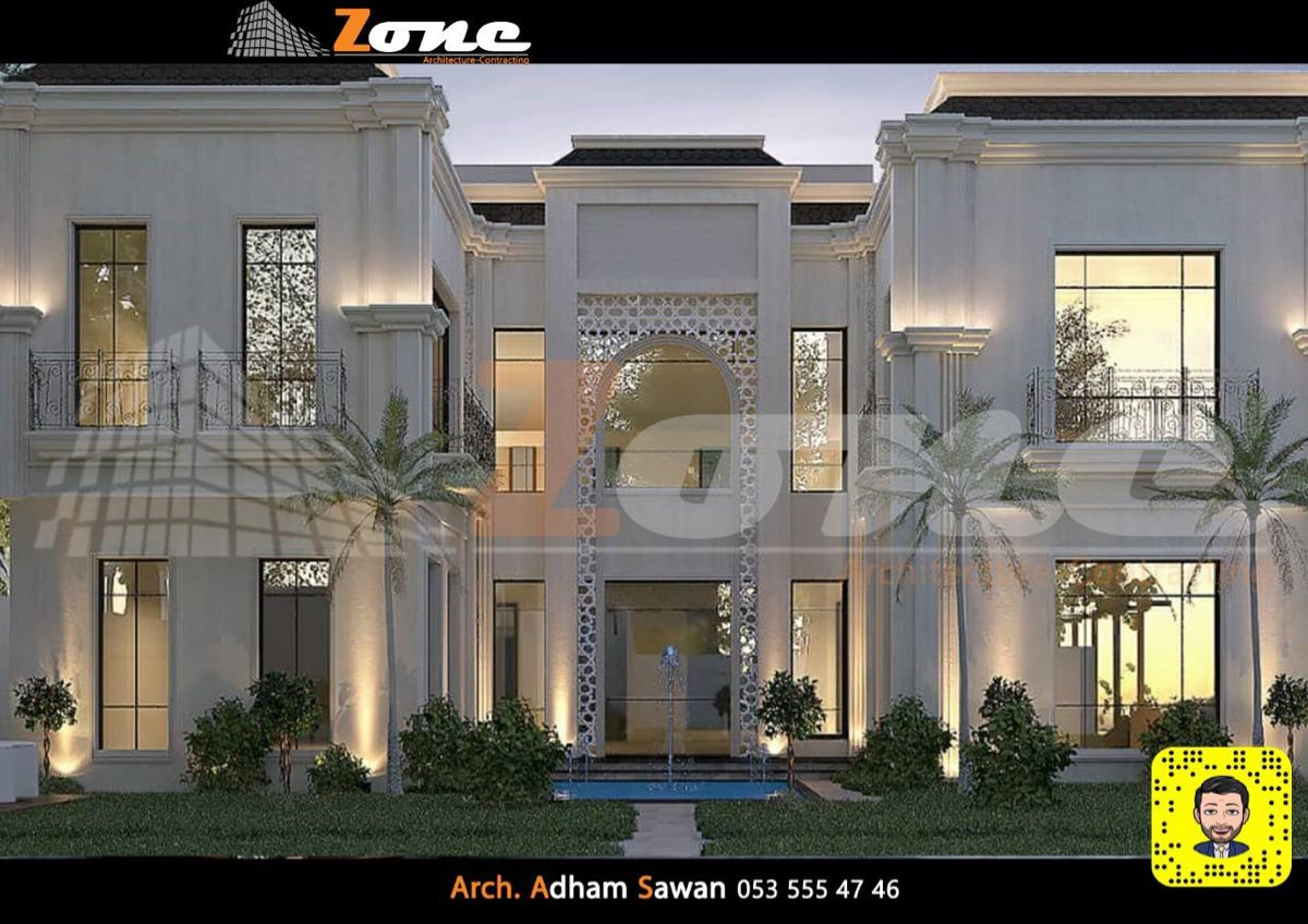 Pin By Adham Sawan On واجهات In 2021 House Styles House Mansions