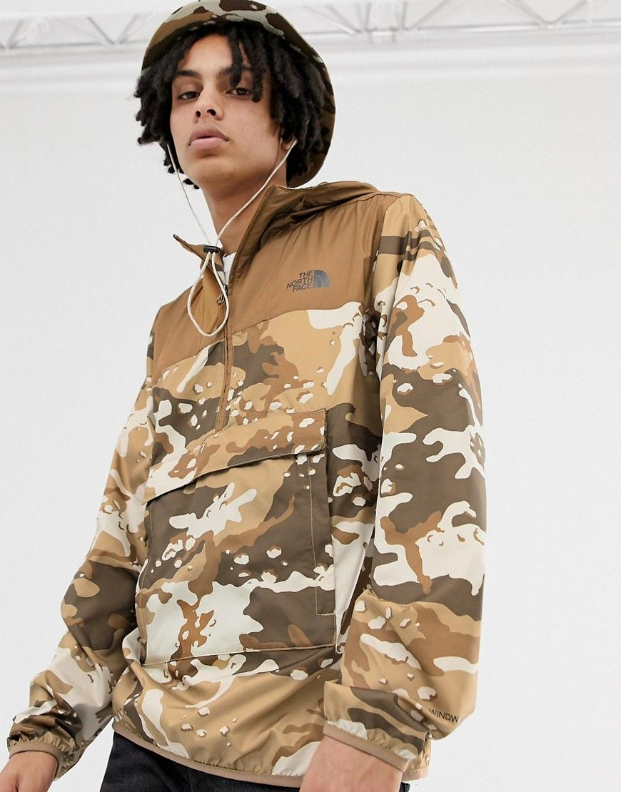 b18cd08f1 THE NORTH FACE NOVELTY FANORAK IN MOAB CAMO - BROWN. #thenorthface ...