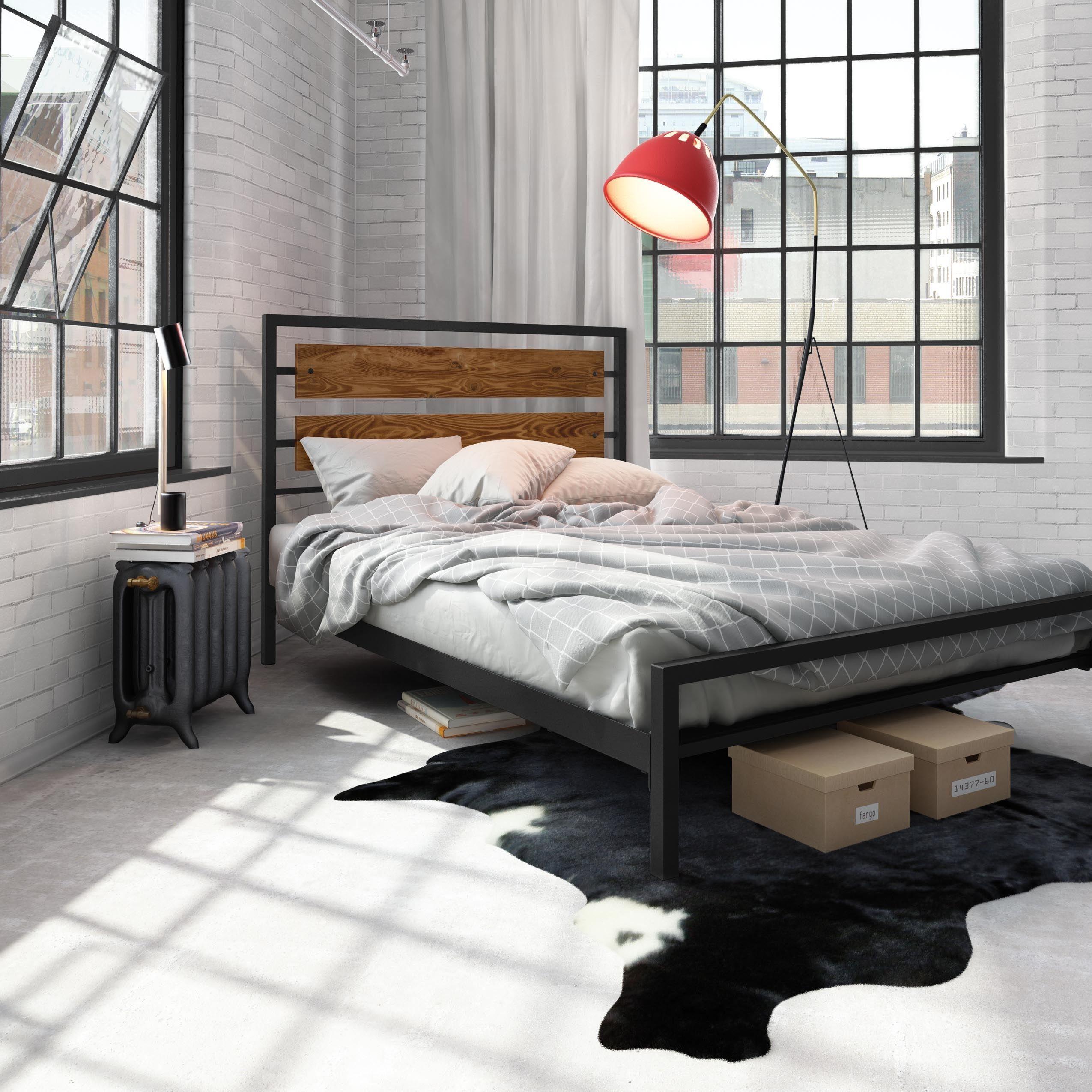 Carbon Loft Banting 54-inch Full-size Metal Bed | Einrichten und ...