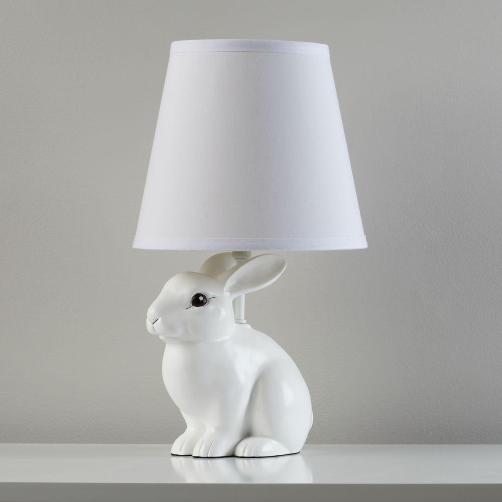 White Rabbit Lamp In 2019 Bunny Kids Lighting
