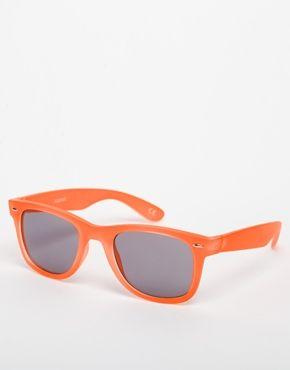 ASOS Neon Wayfarer Sunglasses