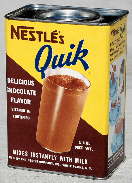 Quik, my brother made the best milkshakes with nestles quik when we were kids!