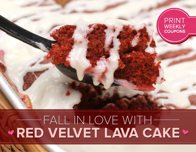 Happy Valentines Indulge In Our Delicious Red Velvet Lava Cake Lava Cakes Sweet Recipes Sweet