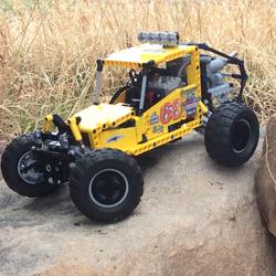 Lego RC Racing Buggy | Lego models | Lego, Lego technic, Lego creations