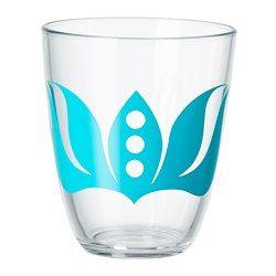 18246294e6c Glassware & pitchers - Glasses & Wine glasses - IKEA | Blue Cups ...