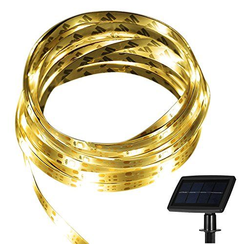 Solar Strip Lights Totobay 164 Ft Led Cuttable Outdoor String Lighting For Bedroom Patio Tree Garden Wedding Party Decorations 2 Modes Steady On Flash Ip65