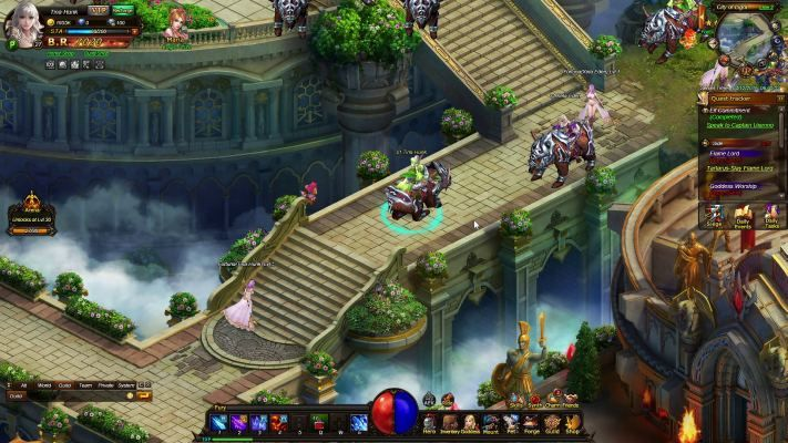 Thundercall is a Browser-based Free-to-play, Role-Playing MMO Game MMORPG taking places in a vast Fantasy world rendered with rich 2.5D graphics