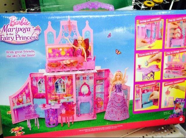 Walmart - Barbie - Mariposa & the Fairy Princess Castle Set