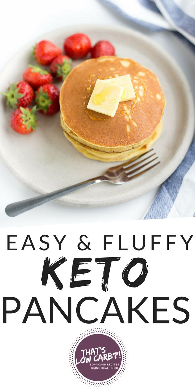 The Best Keto Pancakes Recipe   Low Carb Recipes by That's Low Carb?!