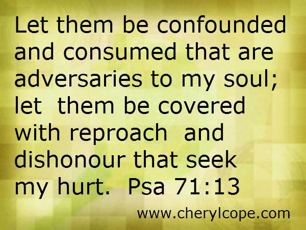 Spiritual Warfare Prayers Against Enemies - 0425