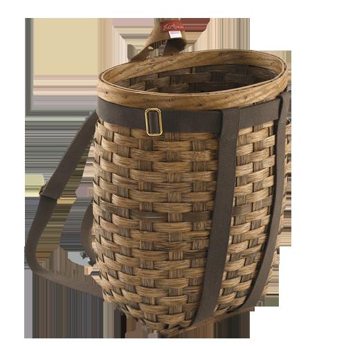 Gratiot Lake Basket Weaving Supplies : Pack basket always handy trappers