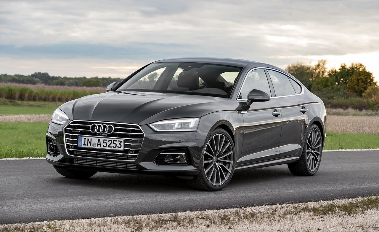 2018 Audi A5 Sportback Driven It S A Looker Audi A5 Audi A5 Sportback New Audi A5