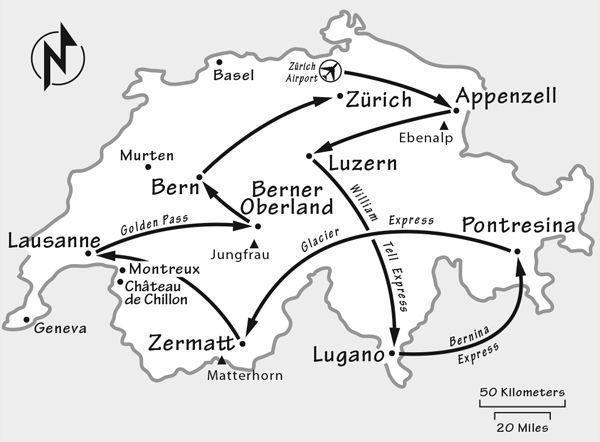 Switzerland Itinerary Where To Go In Switzerland By Rick Steves