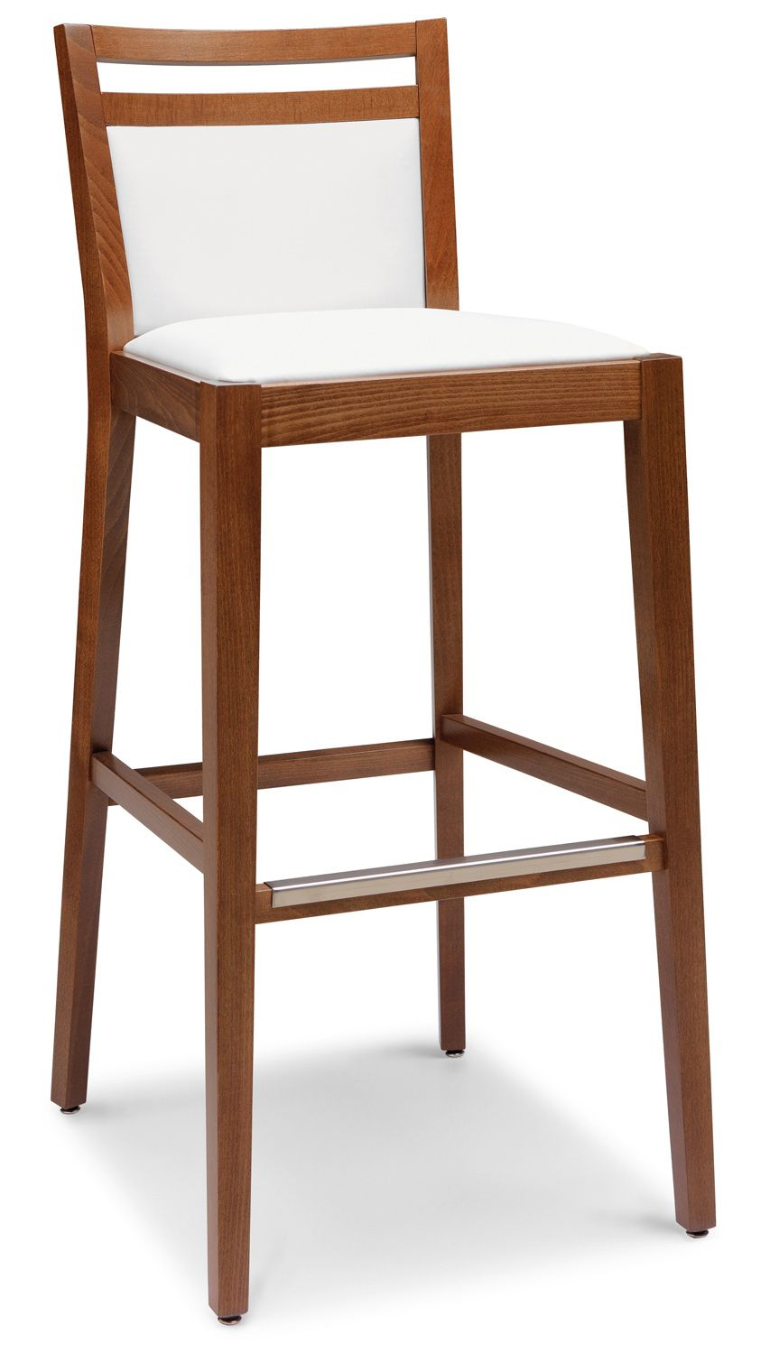 € 150,00 #sconto 40% #sgabello OFELIA #stile classico. Realizzato in #legno massello con sedile e schienale imbottiti e rivestiti: 100% #MadeinItaly. Dotato di comodo #poggiapiedi con protezione metallica. Scoprilo e #acquistalo in #offerta #prezzo su www.chairsoutlet.com