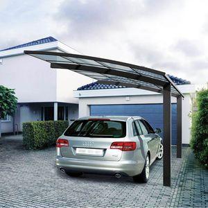 Risultati Immagini Per Tettoia Per Auto Tettoia Posto Auto Progettazione Di Un Giardino Moderno