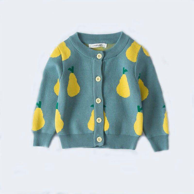 Toddler Cotton kids Cardigan Baby Boys Girls Children/'s Knit Cardigan Sweater