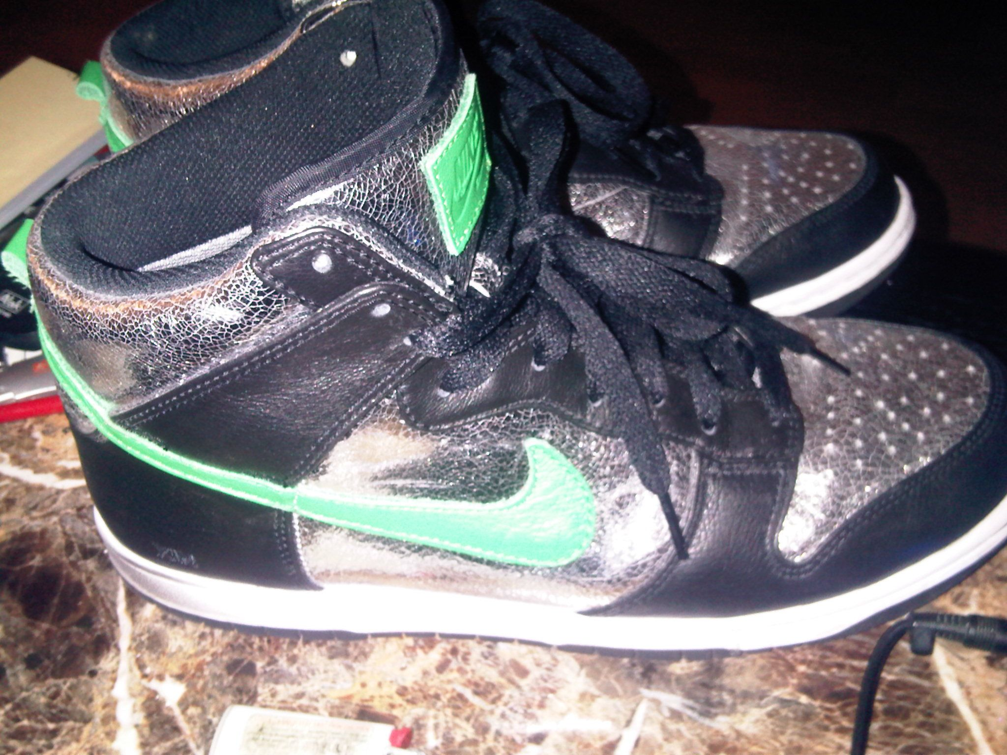 limited edition gunmetal nike dunks value