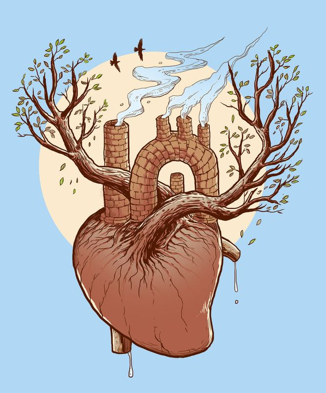 Heart Art | Cardiology | Pinterest | Heart art, Random drawings and ...