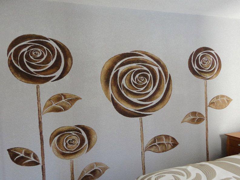 Pintar pared de dormitorio mis paredes pintar pintar paredes de dormitorio y pintura mural - Pintar mural en pared ...