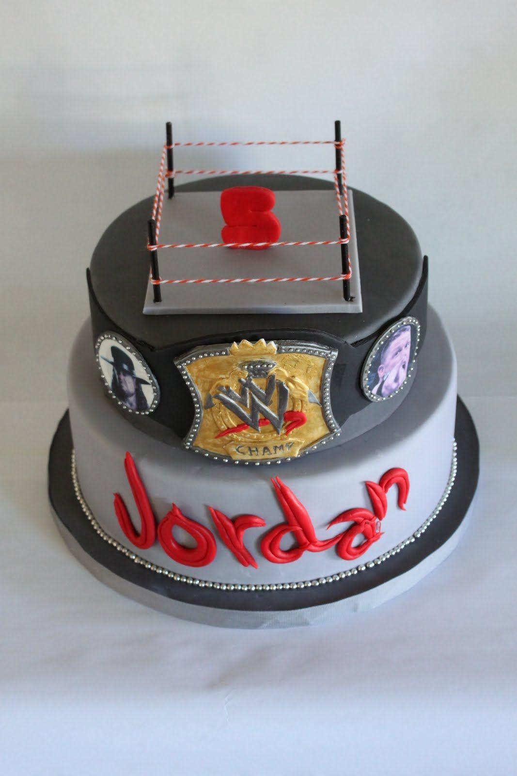Wwe Cake Google Search Just For Josh Pinterest Wwe Cake