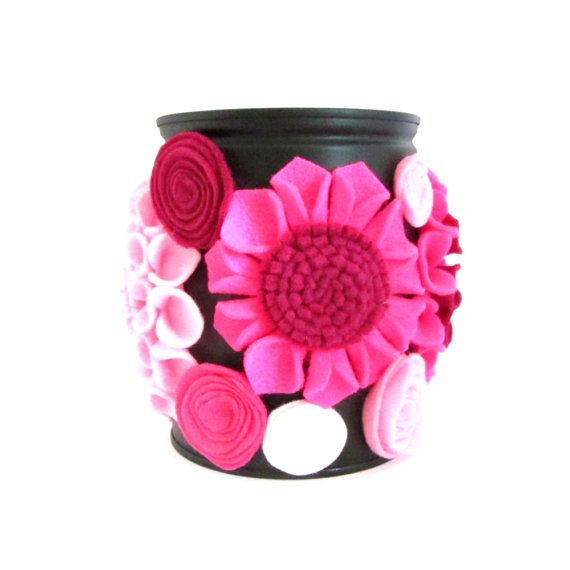 Blossom Home Decor  Upcycled Tin Can  Repurposed by CanOrCanNot, €30.00