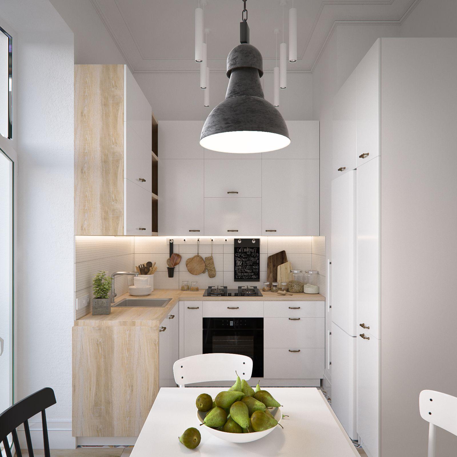 Modern Scandinavian Style Home Design For Young Families 2 Examples Scandinavian Style Home Kitchen Remodel Small Kitchen Decor