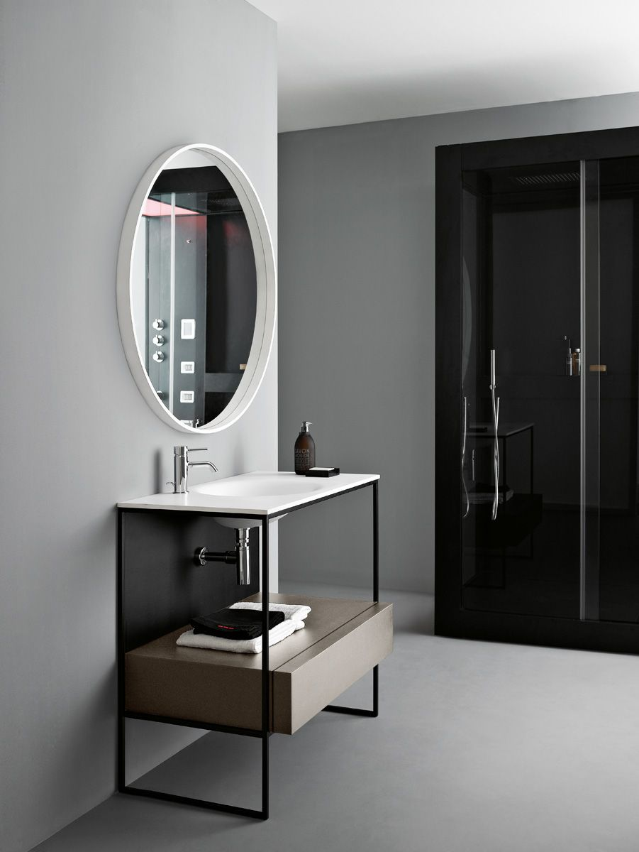 Morphing Bathroom Collection Avec Showerbox Designed For