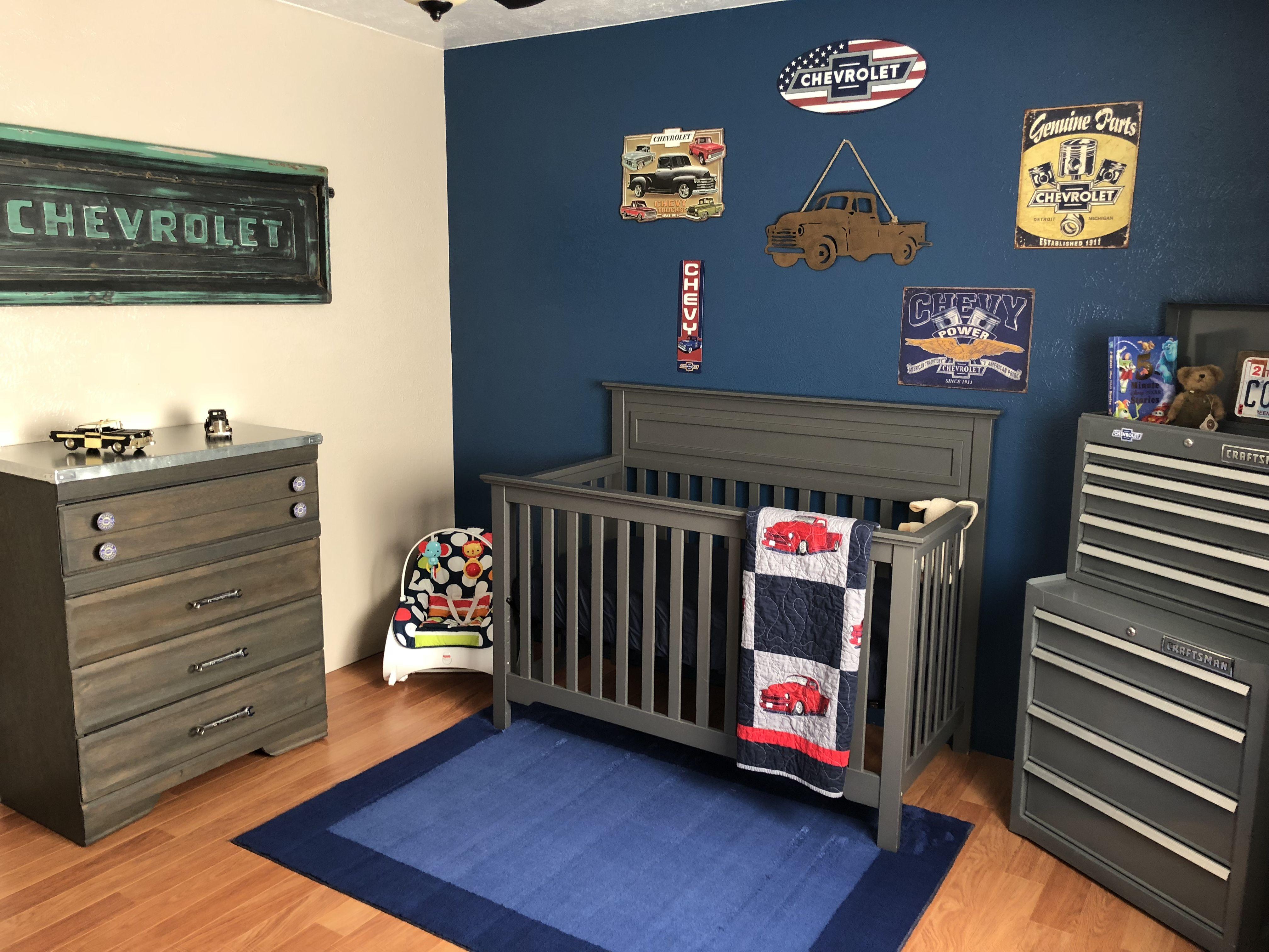 Stepside Chevy Tailgate Wall Art For Our Nursery Vintage Chevy Truck Nursery Vintage Truck Nursery Baby Boy Room Nursery Car Themed Nursery