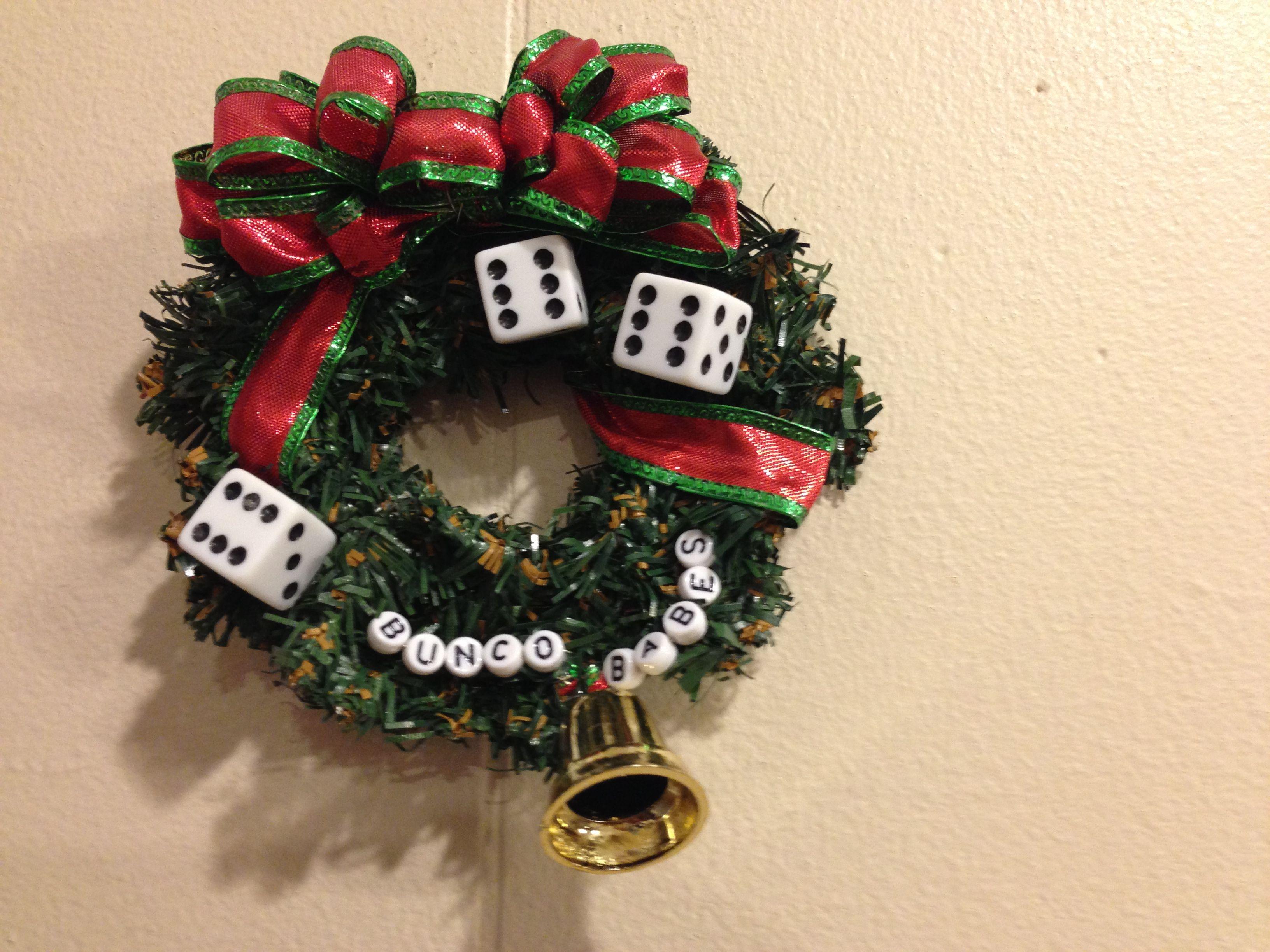 Christmas Bunco Party Ideas Part - 37: Christmas Bunco Ornament!
