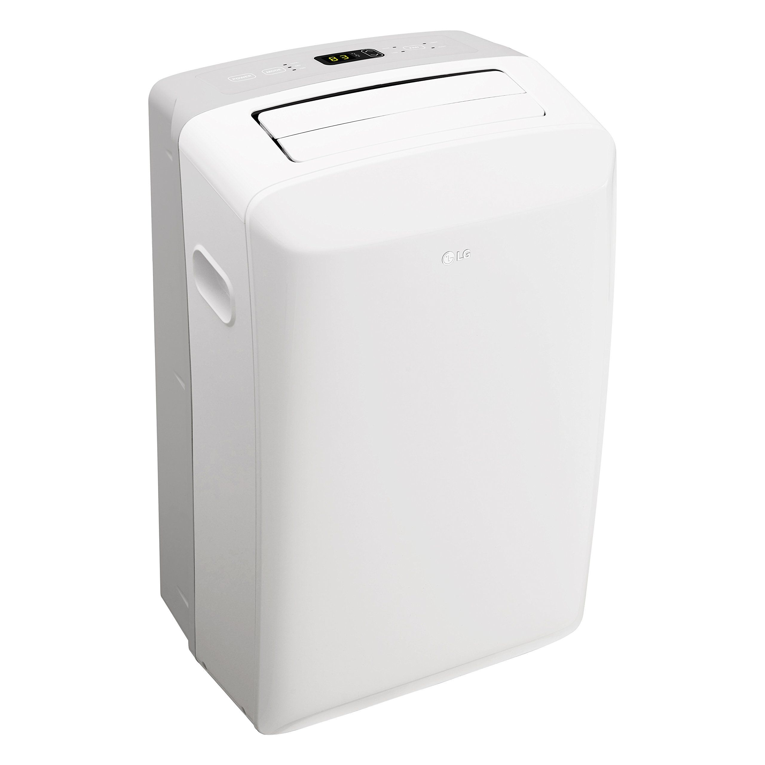 Lg Lp0817wsr 115v Portable Air Conditioner With Remote Control In White For Rooms Up To 150s Portable Air Conditioner Portable Air Conditioners Air Conditioner
