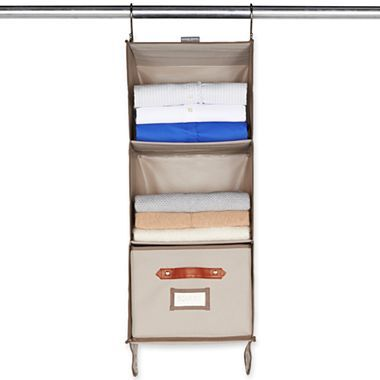 Bedrooms · Michael Graves Design Hanging 3 Shelf Closet Organizer ...