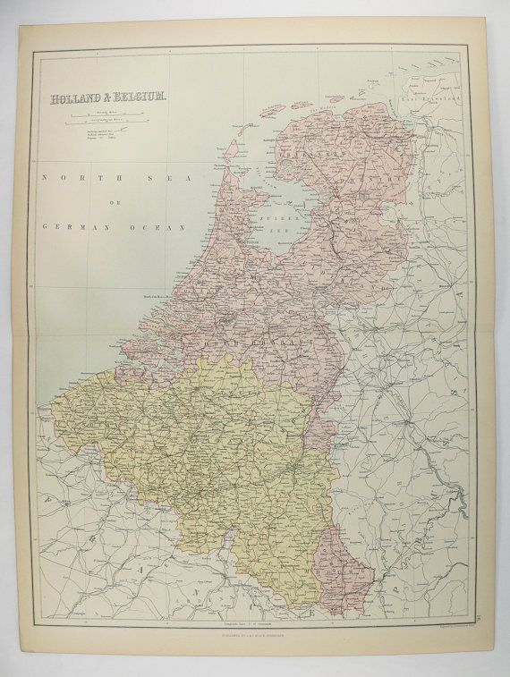 old belgium map antique holland map 1884 a c black map netherlands map northern