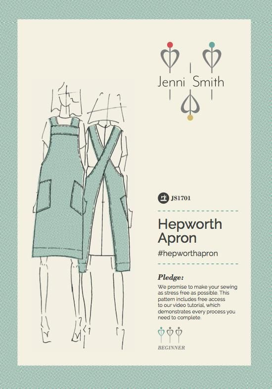Hepworth Apron Sewing Pattern PDF - US version | Sew and sew ...