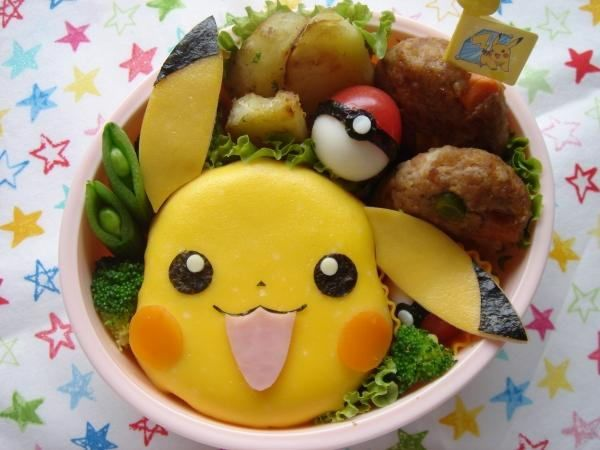 Aniplogs Anime Source Japanese Bento Box - Delicious to Outrageously Cute & Pokemon Bento Box | Food | Pinterest | Bento Bento box and Lunches Aboutintivar.Com