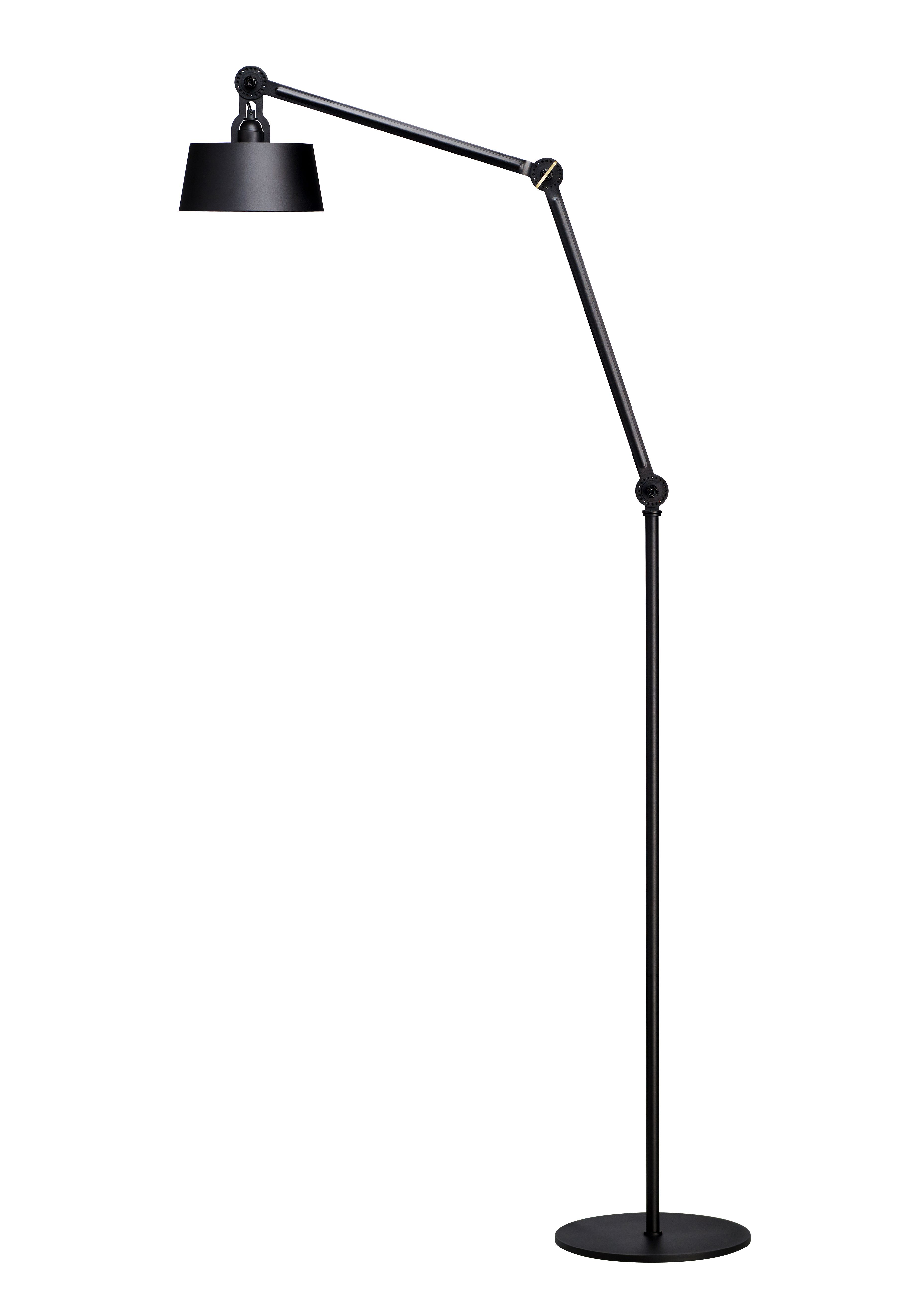 Tonone Bolt Floor Long Lamp 2arm Smokey Black Upper Fit Each Lamp Comes With A Special Wingnut Shaped Tool This Wingnut Can Be Used To Ad Lampen Interieur