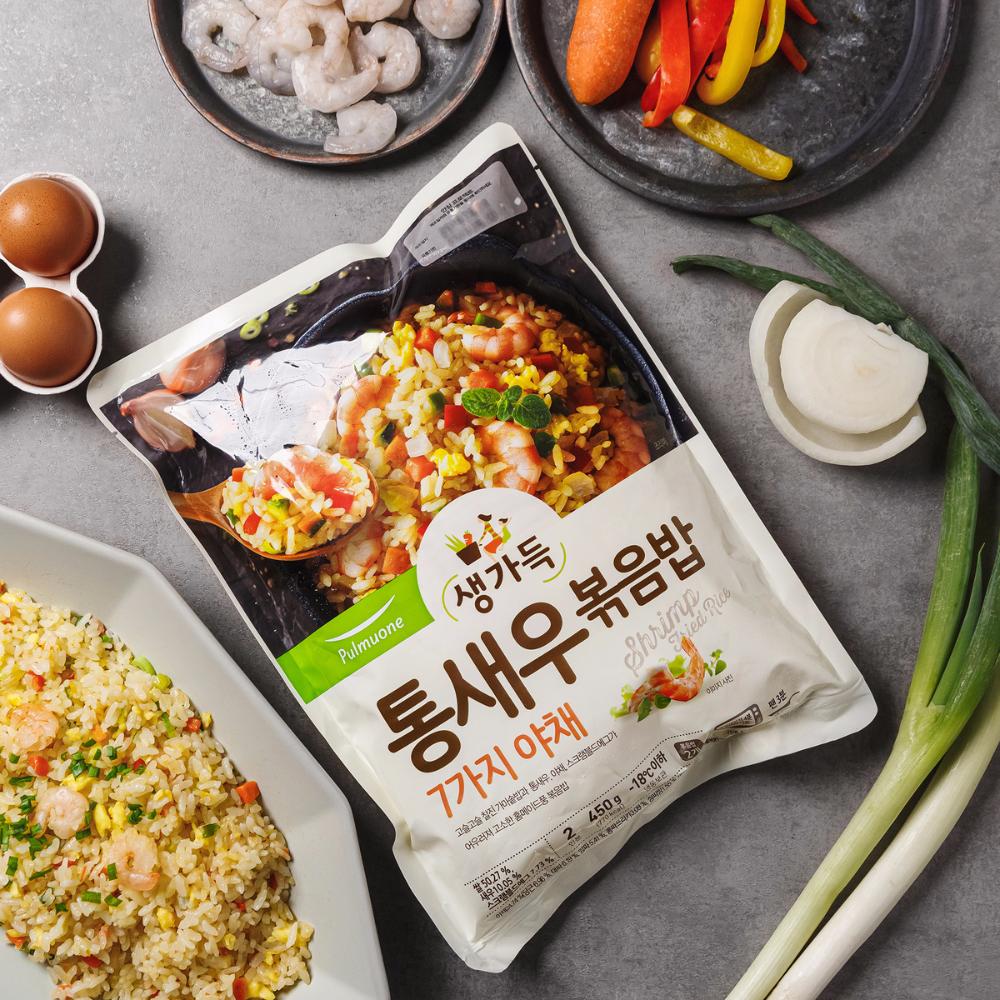 풀무원 통새우 볶음밥 450g 2인분 이마트몰 당신과 가장 가까운 이마트 2020 음식 인스타그램 볶음밥 식품 아이디어
